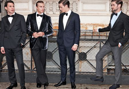 Black tie event dress code male