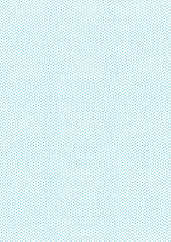 Cyan Color Isometric Grid  Patterns    Isometric Grid
