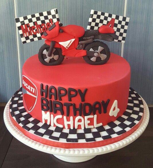Ducati motorbike cake my cakes pinterest ducati for Motorbike template for cake