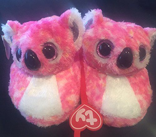 a03faa6d9fe cool TY Beanie Boo Little Girls  Loafer Slippers
