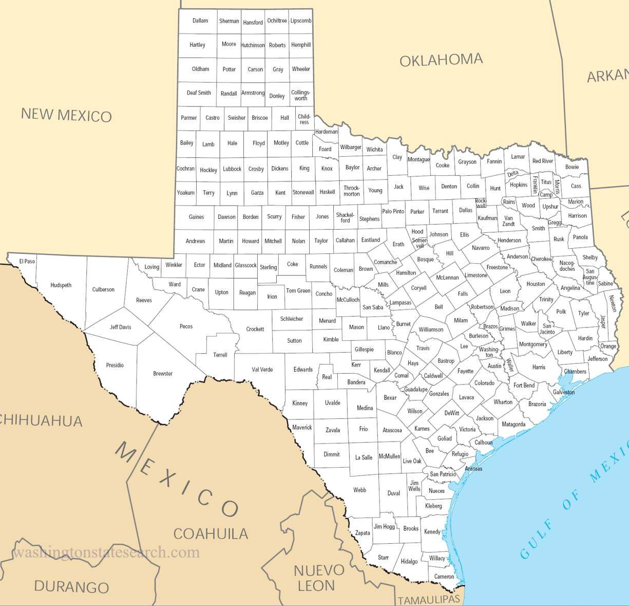 Printable Map Of Texas Counties.R Just Had A Very Hard Time With A Tx Geography Exercise B C