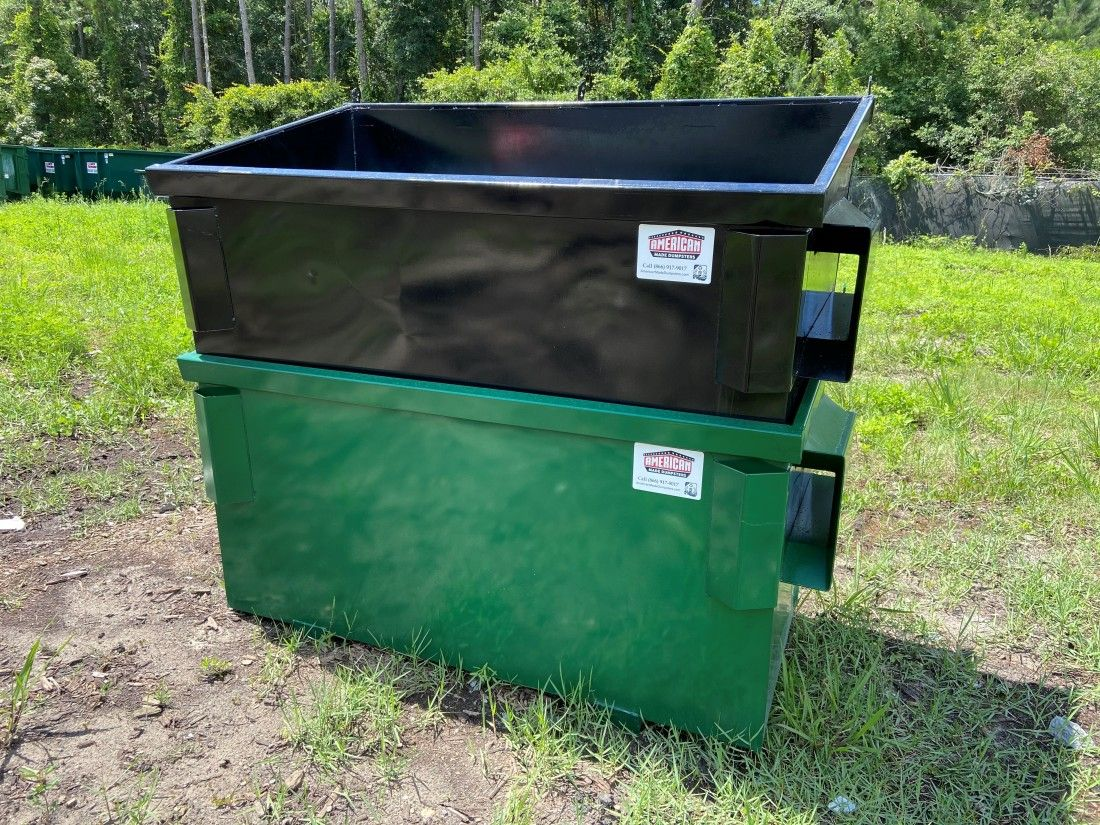 What Can I Put Into A 2 Yard Dumpster Primarily Used By Small Businesses 2 Yard Dumpsters Are Great For Collecti In 2020 Dumpsters Trash Bags Small Apartment Complex