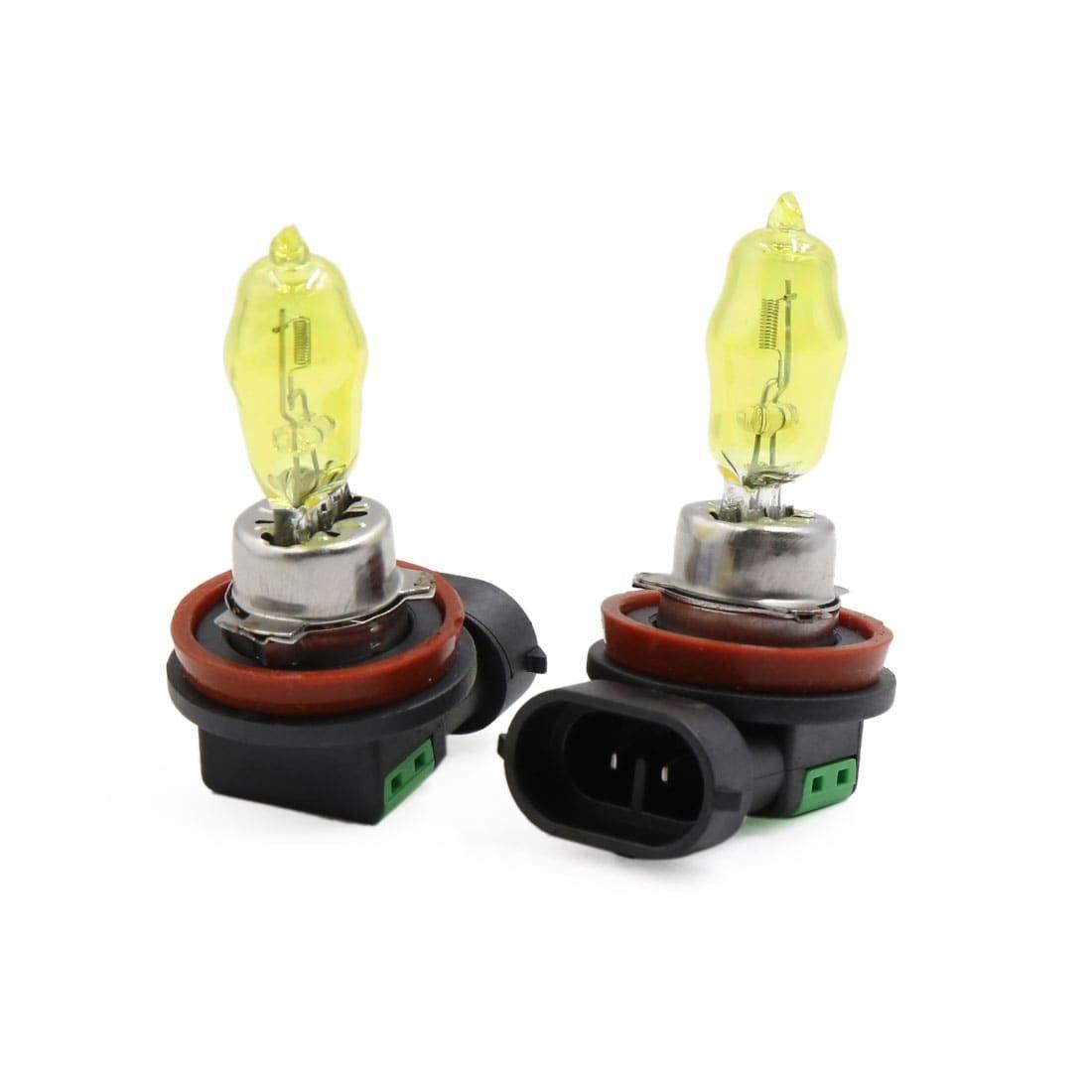 27w Super White Xenon Headlight Bulbs 12v For Car Auto* 881 High Bright H27W//2