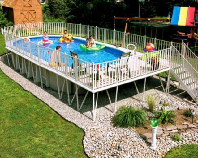 Above Ground Swimming Pool Designs Shapes And Styles Kid S