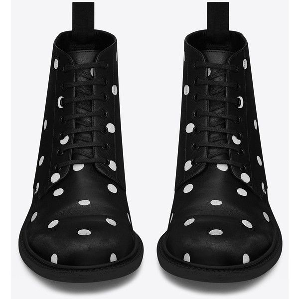 5207370320 Saint Laurent Lolita 20 Lace-Up Boot (1 425 AUD) ❤ liked on ...