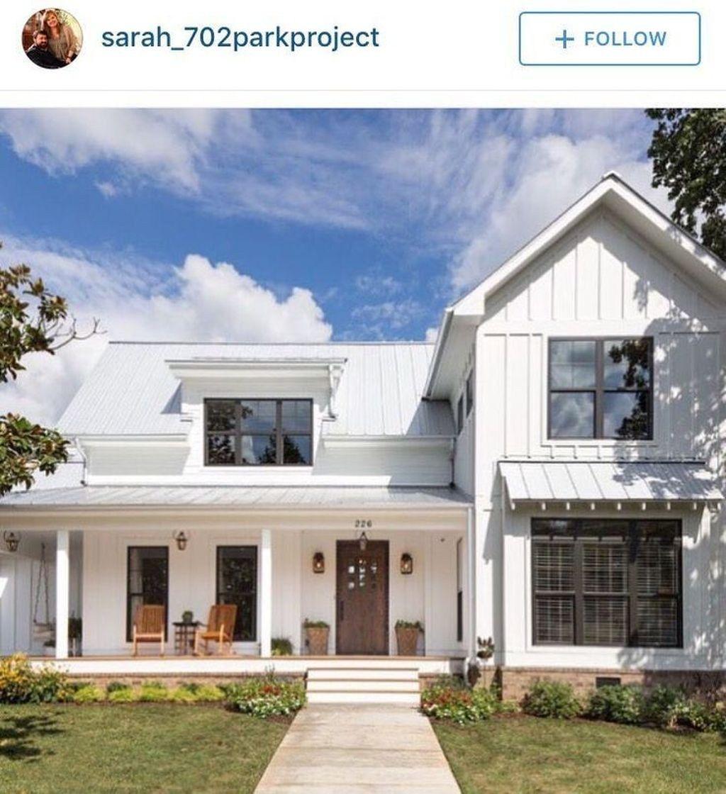 Fantastic Modern Farmhouse Exterior Design Ideas20 Modern Farmhouse Exterior Exterior House Remodel Farmhouse Exterior