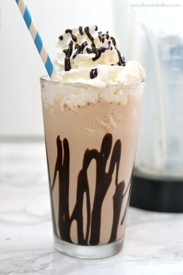 Mocha Freeze Coffee This delicious blended iced coffee