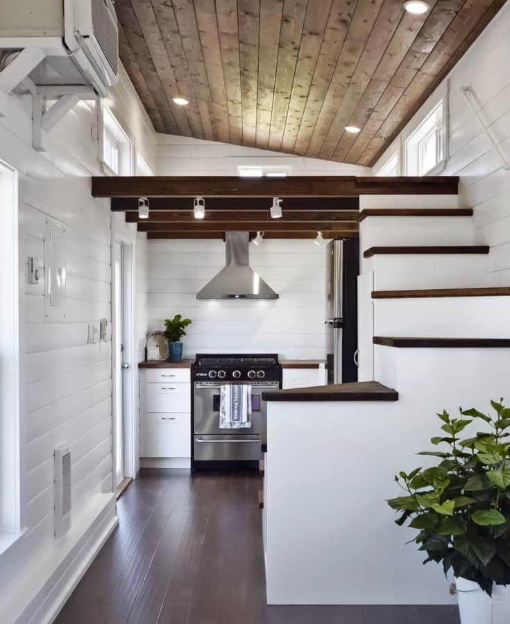 Custom Tiny House with 2 Lofts and Aluminum Frame! - Tiny ...