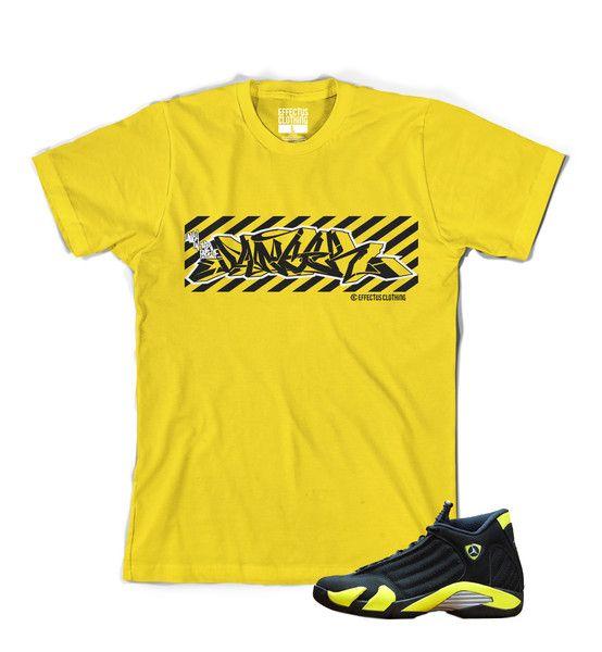 big sale 6da72 60457 Shirt to match Thunder 14 Jordans. Danger Tee