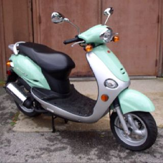 My scooter!