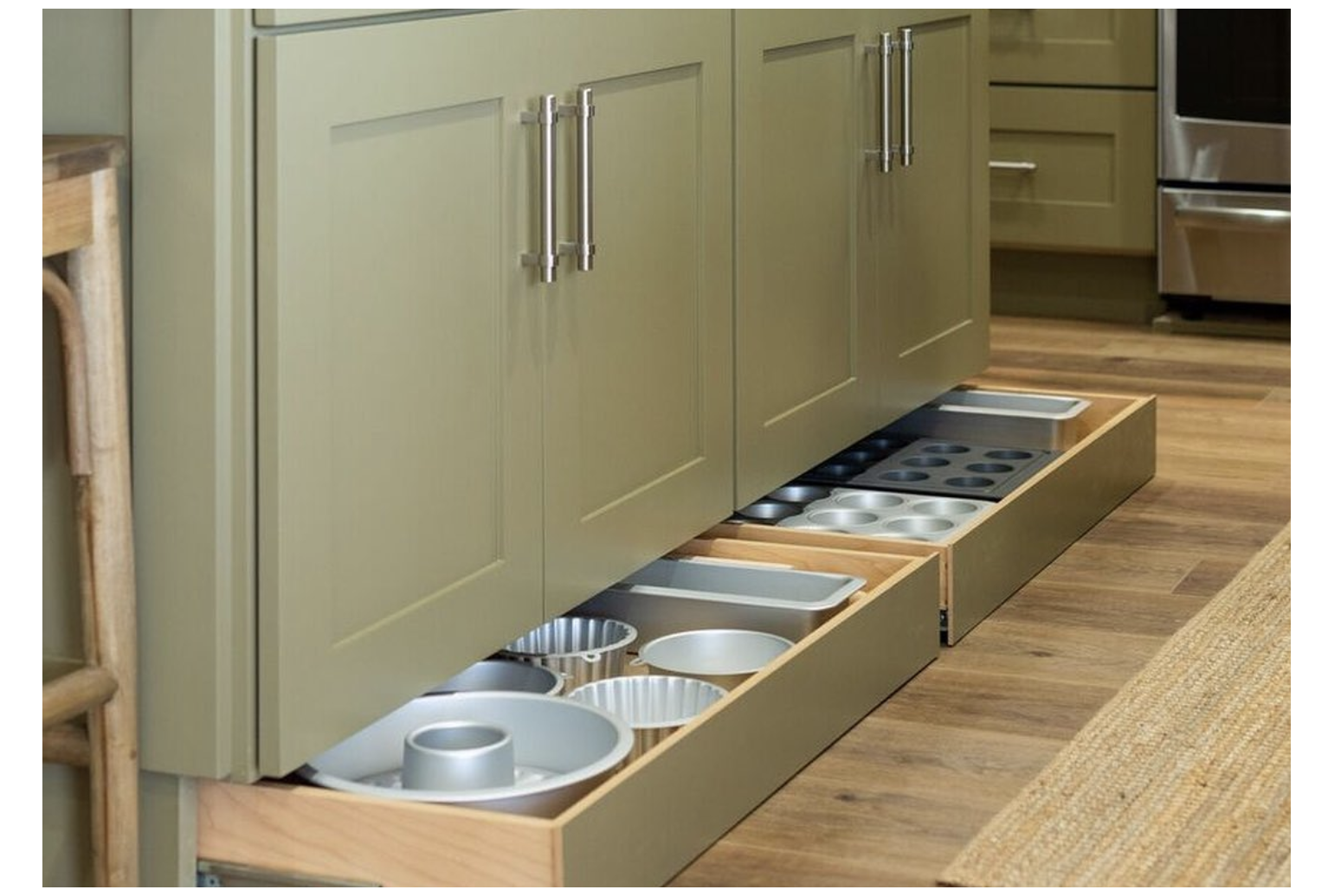 Toe Kick Drawers Are The Hidden Storage Space That Will Transform Your Kitchen Kitchen Drawer Storage Ideas In 2020 Hidden Storage Kitchen Furniture Kitchen Style