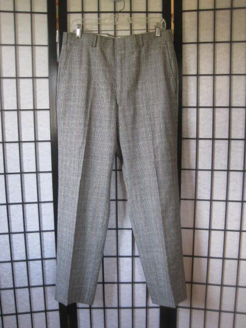 Vintage Austin Reed Slacks Glen Plaid Pure Virgin Wool Pants Slacks Wool Pants Pants