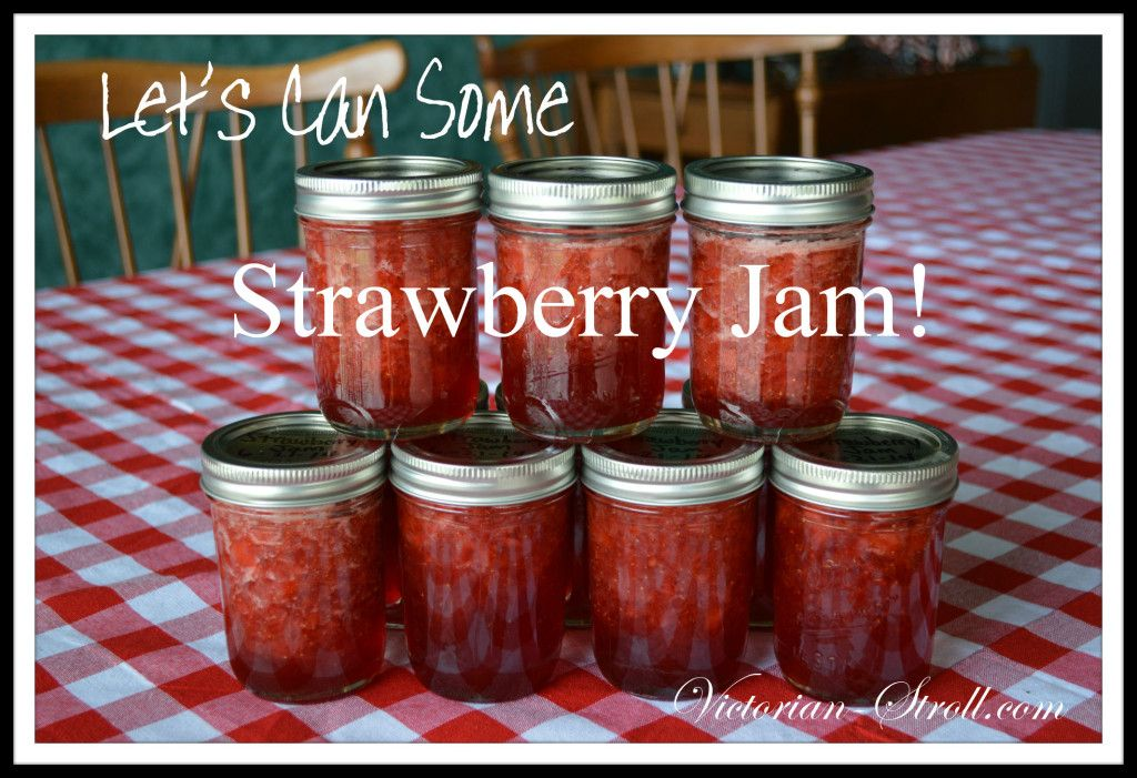 Great Strawberry Jam....easy to make for first time canners...you can do this!  :)