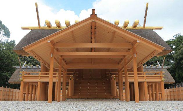 伊勢神宮 内宮新正殿を公開 : 日本経済新聞
