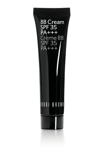 Bobbi Brown BB Cream SPF 35. Foundation/concealer hybrid that gives light even coverage and contains an SPF.