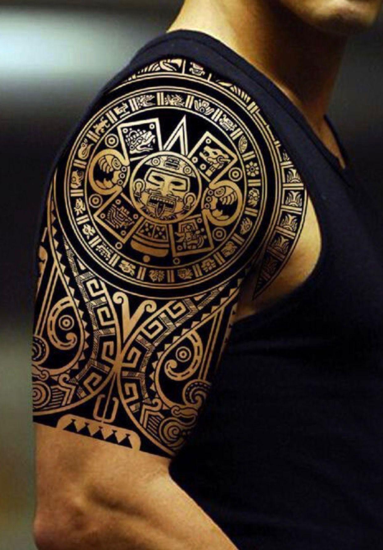 Maoritattoosshoulder Polynesiantattoosshoulder