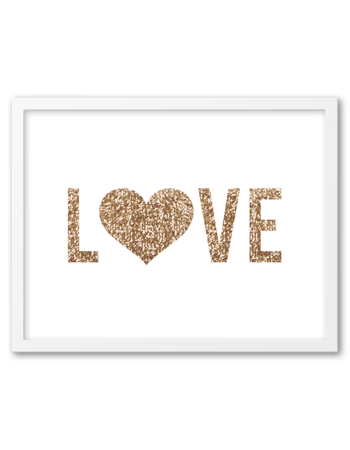 Download And Print This Free Printable Gold Sequin Heart Wall Art For Your  Home Or Office Part 84