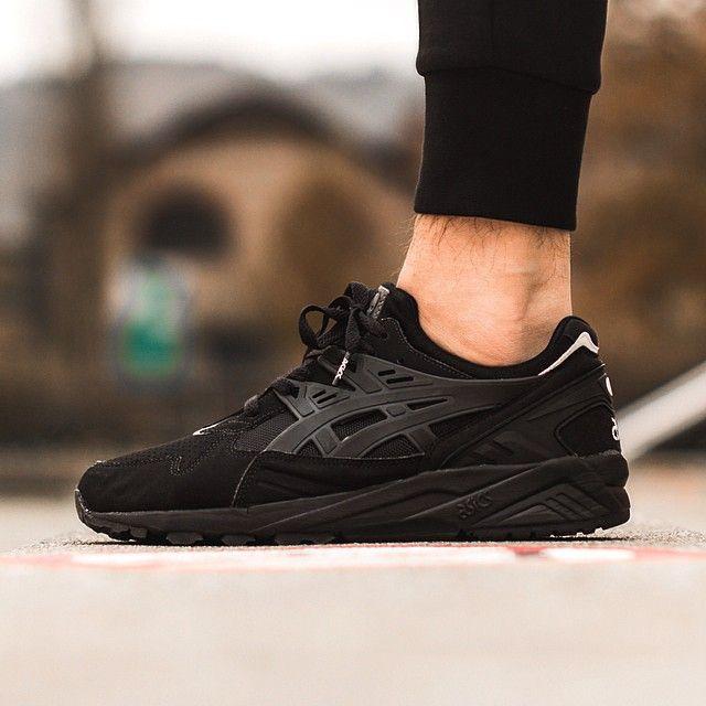 asics gel kayano noire