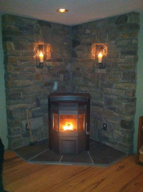 Corner Stove Idea | My shop | Pinterest | Corner stove, Stove and ...