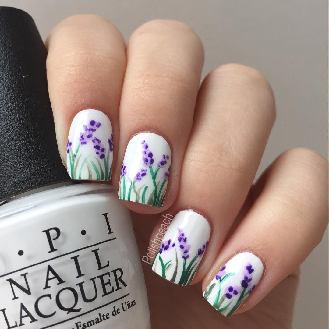 Vilde On Instagram Lavender Nails Inspired By Chalkboardnails I Ve Filmed A Tutorial I M Working Lavender Nails Lilac Nails Wedding Nail Art Design