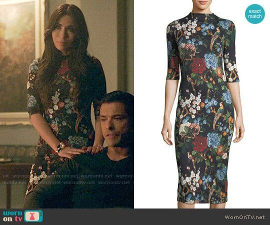 abbc0ca62eb9 Hermoine s floral dress on Riverdale. Outfit Details  https   wornontv.net
