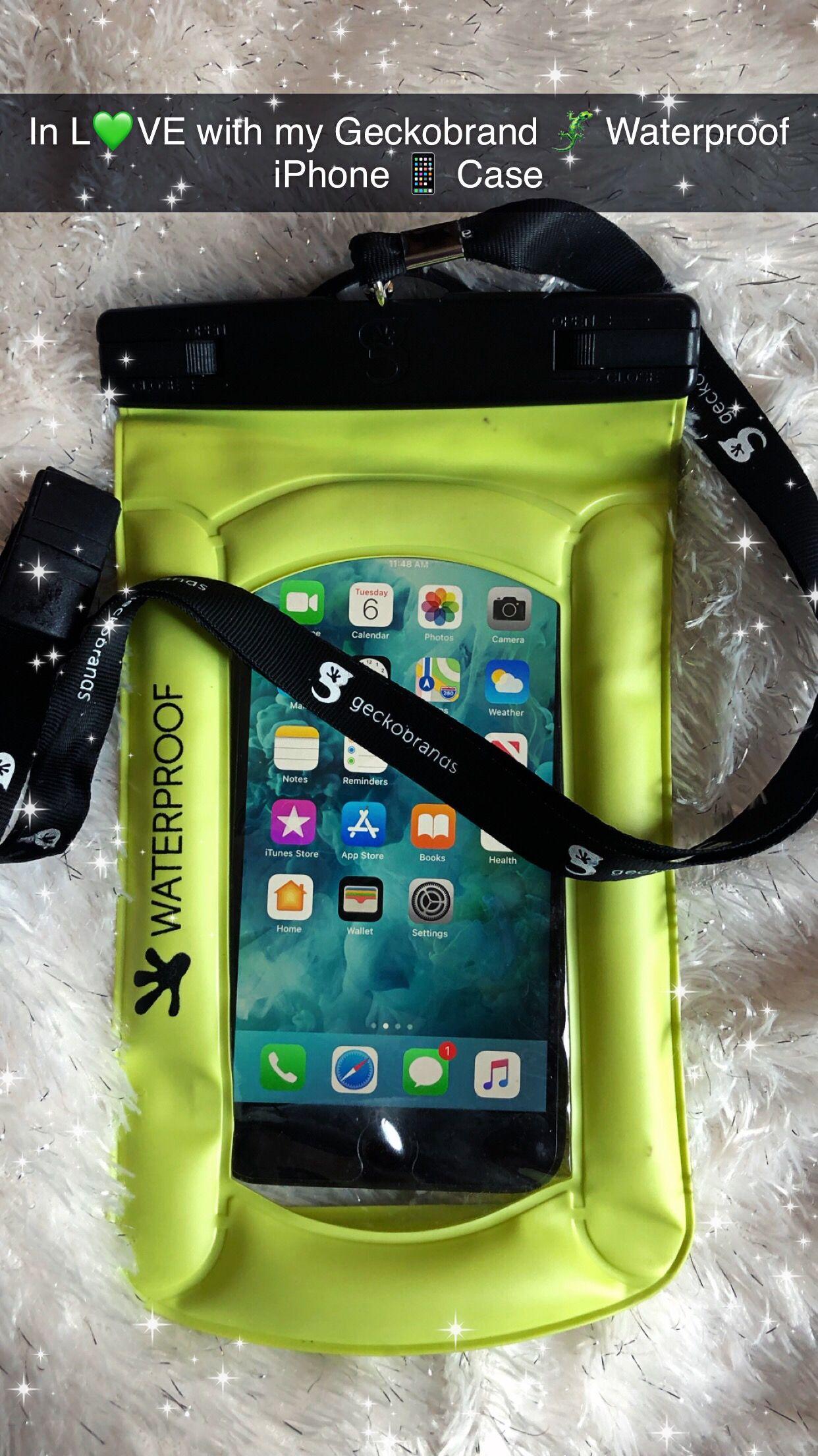 Geckobrand Waterproof iPhone case   Works great underwater ...