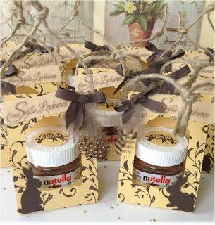 My stampart stampin 39 up mini nutella gift box stempel - Nutella weihnachten ...