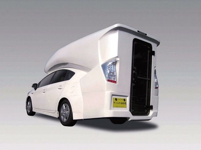 This Funky Camper Conversion Turns Your Toyota Prius Into A Home