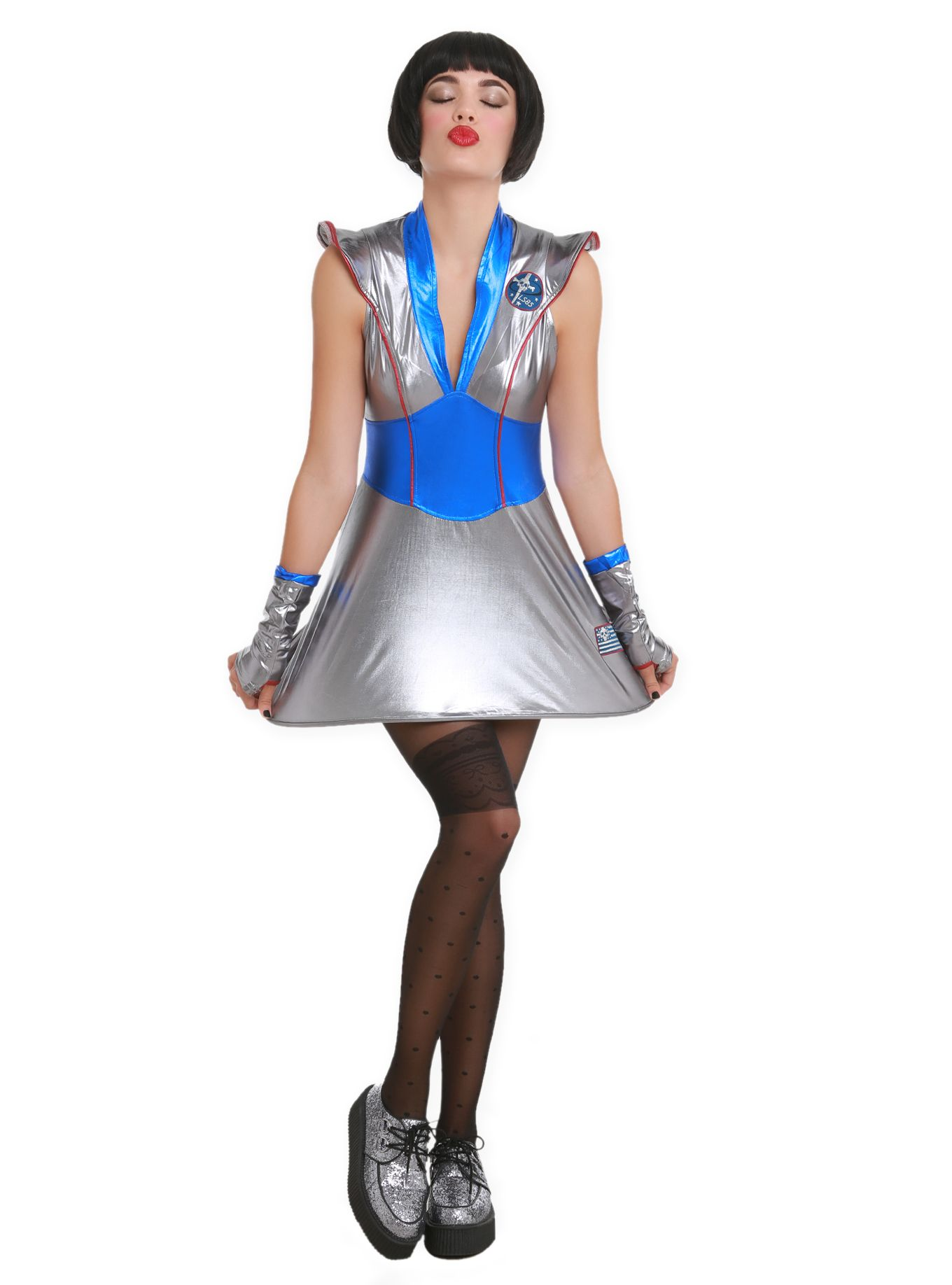 Lip Service Galaxy Girl Costume Hot Topic Spooky
