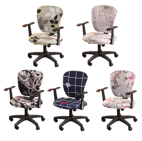This Decorative Computer Office Chair Cover Is Made From Soft Comfortable And Wrinkle Resistant Fabric That Will Prote In 2020 Office Chair Cover Chair Cover Home Diy