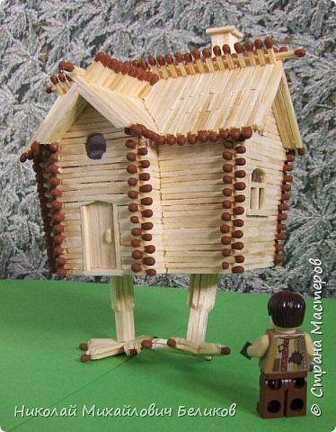 Строим домик из спичек (27 фото)