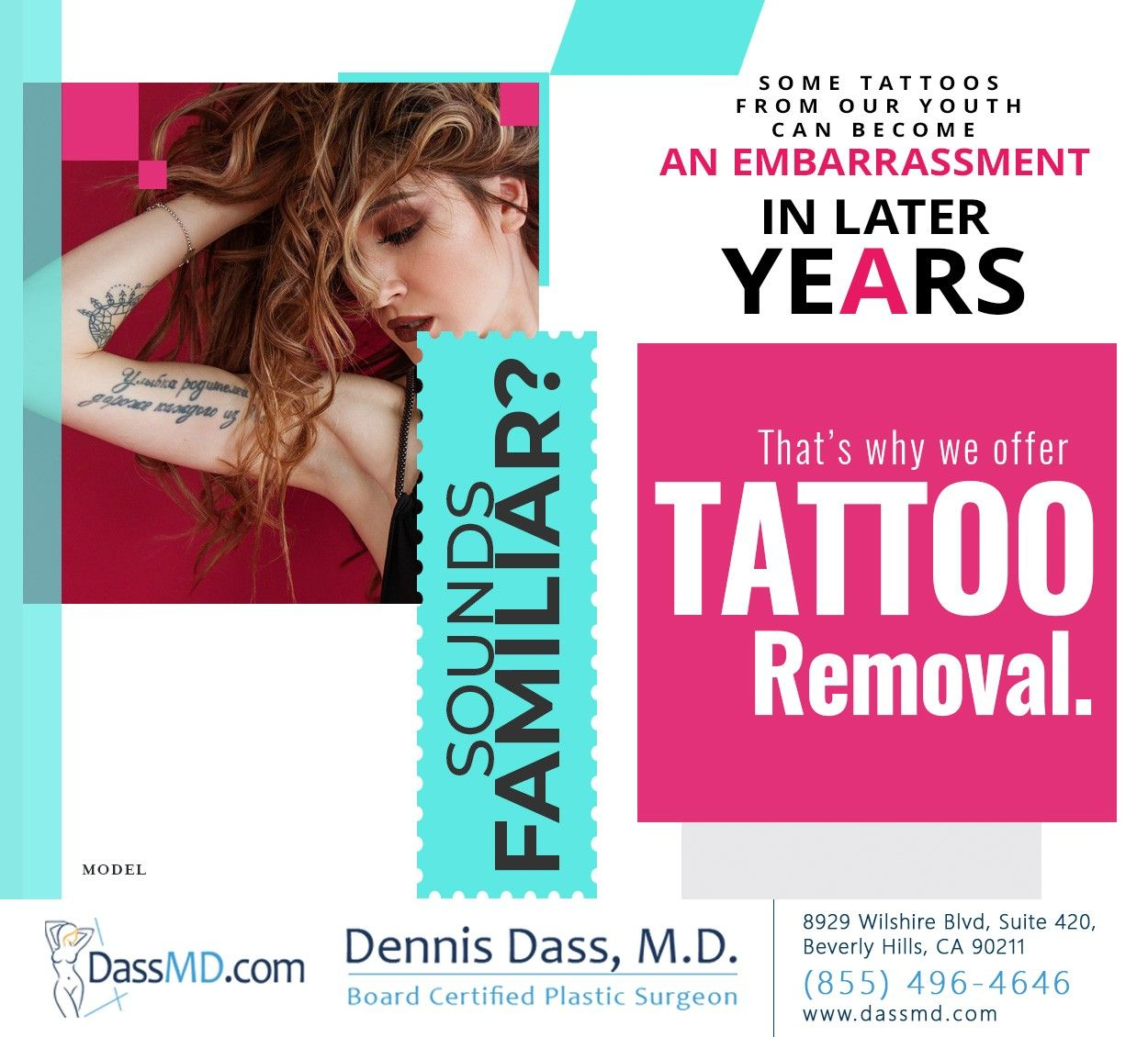 Picosure laser tattoo removal in los angeles laser