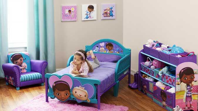 Disney Doc McStuffins Toddler Collection by Delta Children  Doc