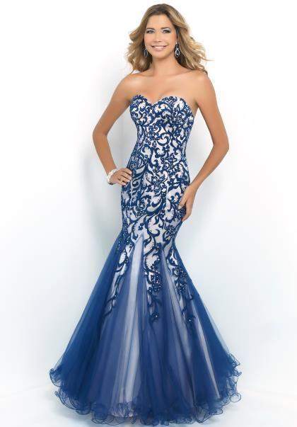 Blush Mermaid Dress 10013