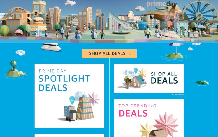 Demand for Amazon Prime Day deals leads to checkout issues