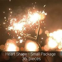Heart Shaped Sparklers Perfect For Your Wedding