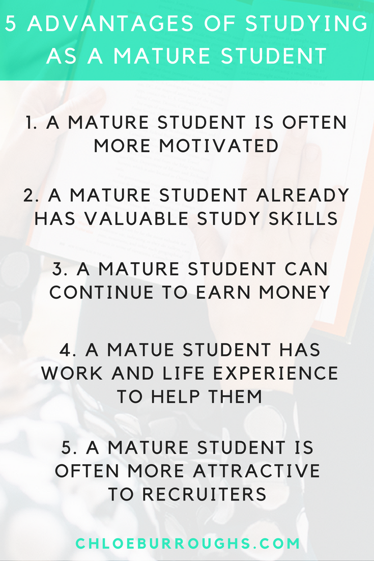 Mature student guide
