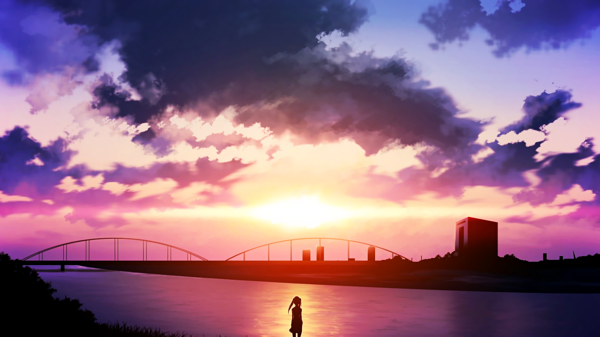 animesunsetriver.png (1920×1080) (con imágenes) Anime