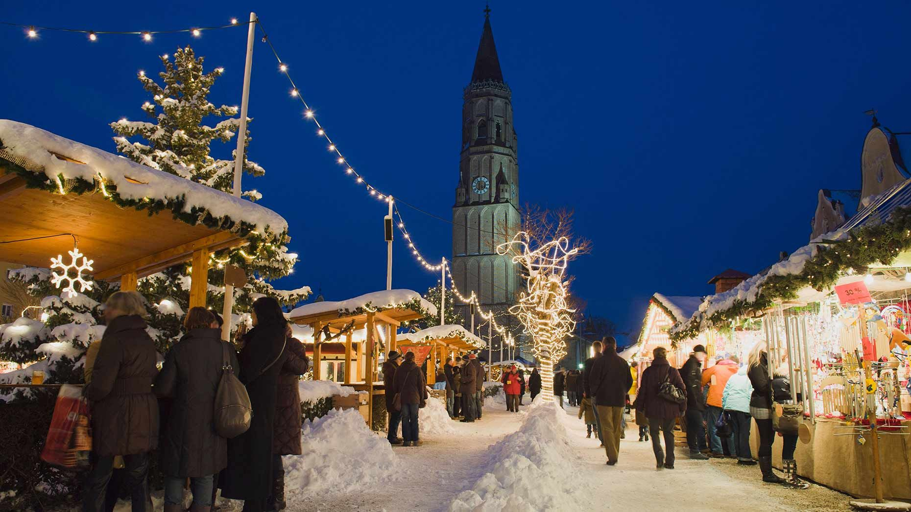 White Christmas In Germany.Places Most Likely To Have A White Christmas Germany You Re