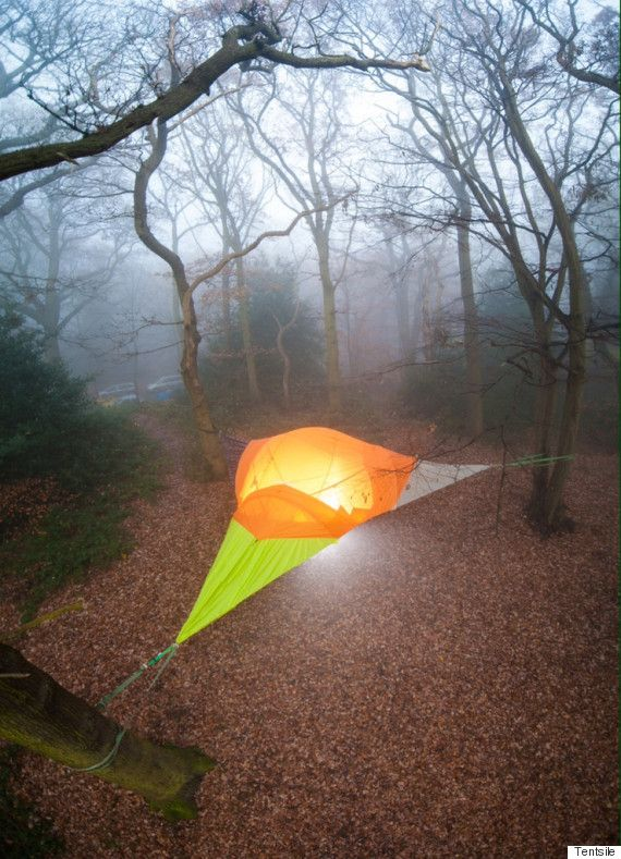 Floating Tents Will Have You C&ing In The Heavens & Floating Tents Will Have You Camping In The Heavens | Hammock tent ...