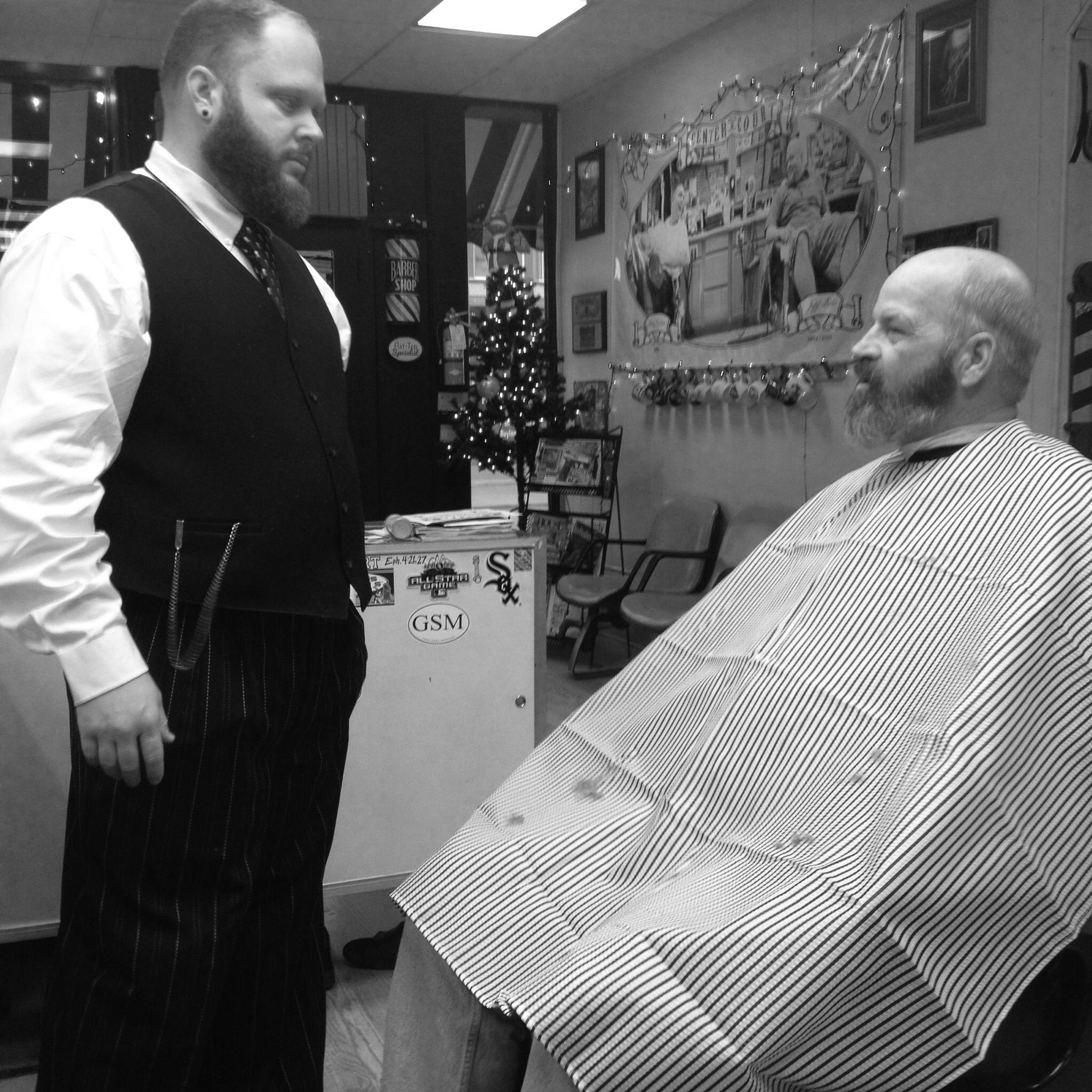 Mens haircut newtown ya have to love the old school feel  barber shop  pinterest