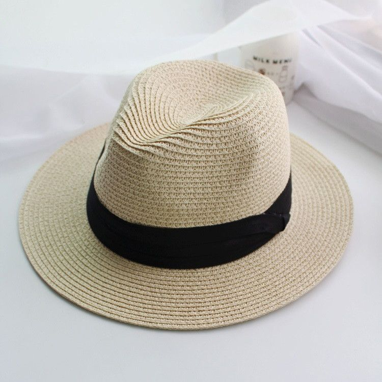 Item Type Sun Hats Pattern Solid Department Name Brand New Style Casual Gender Women Material Polyester Straw