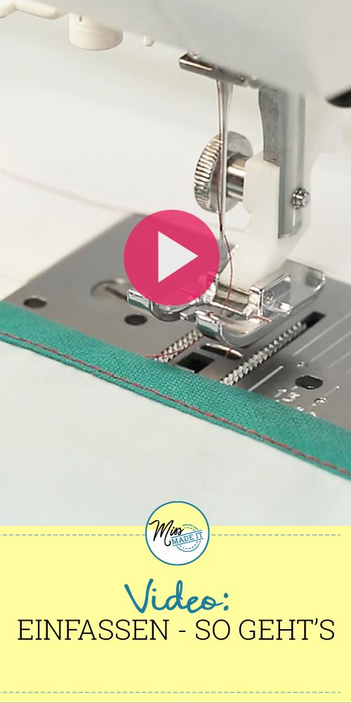 Photo of So können Sie einen Stoff mit Schrägband umrahmen – Video-Tutorial: Binden von Stoff mit …