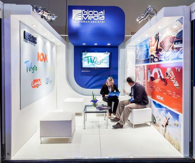 Full custom 3m x 3m corner booth for Gilat at AfricaCom2013   show ...