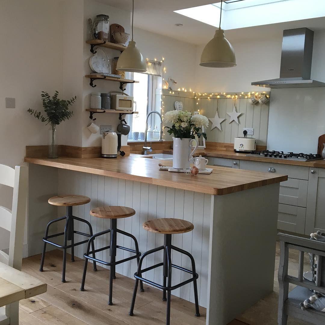 Wohnküche Kücheninsel: Pin Von Rebecca Eden Auf Home