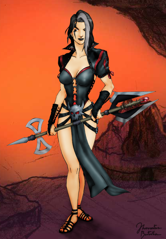 Mortal Kombat Sareena By Jhonatasbatalha On Deviantart Mortal