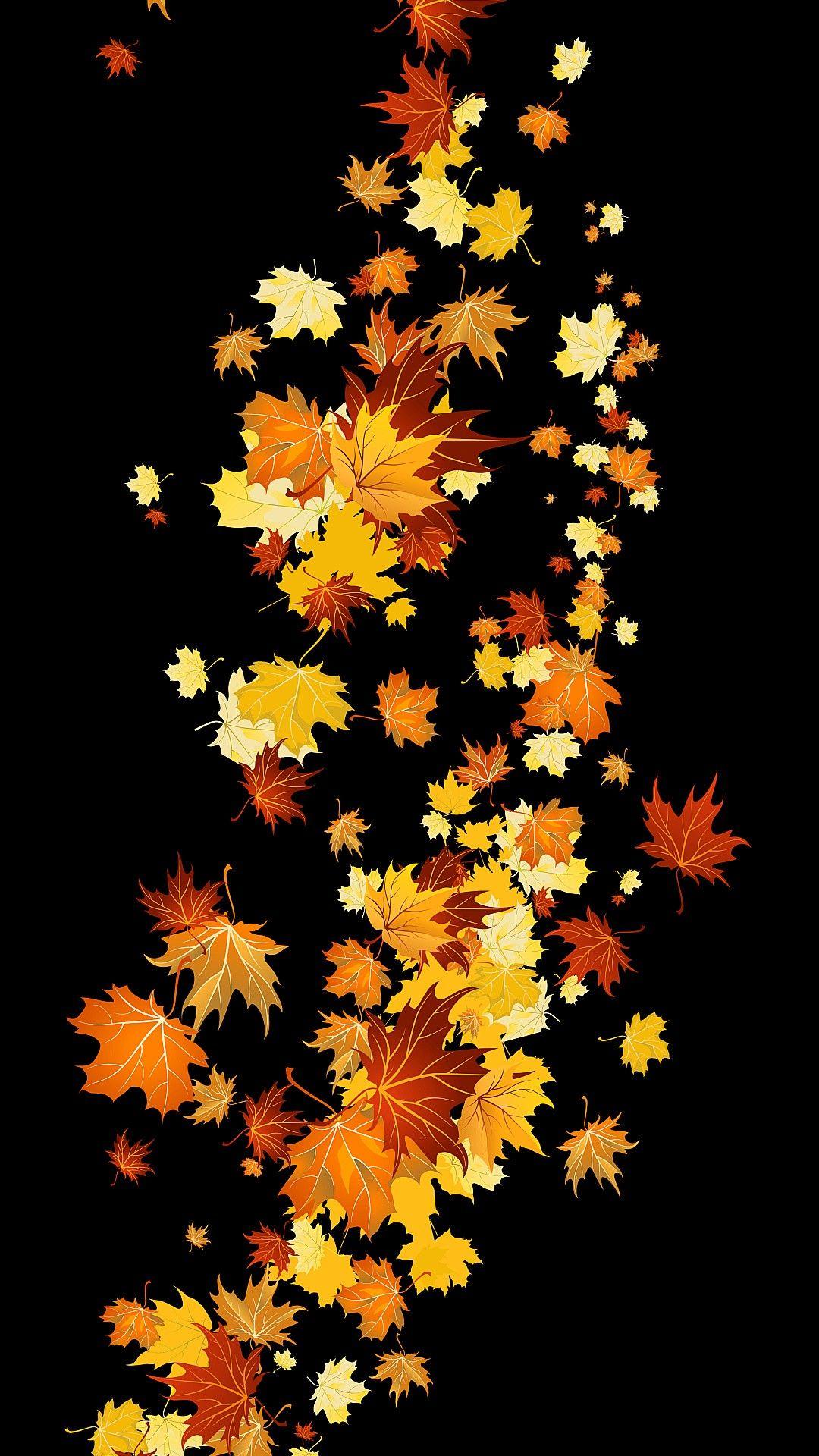 Pin by zryan on wallpaper phone Autumn leaves wallpaper