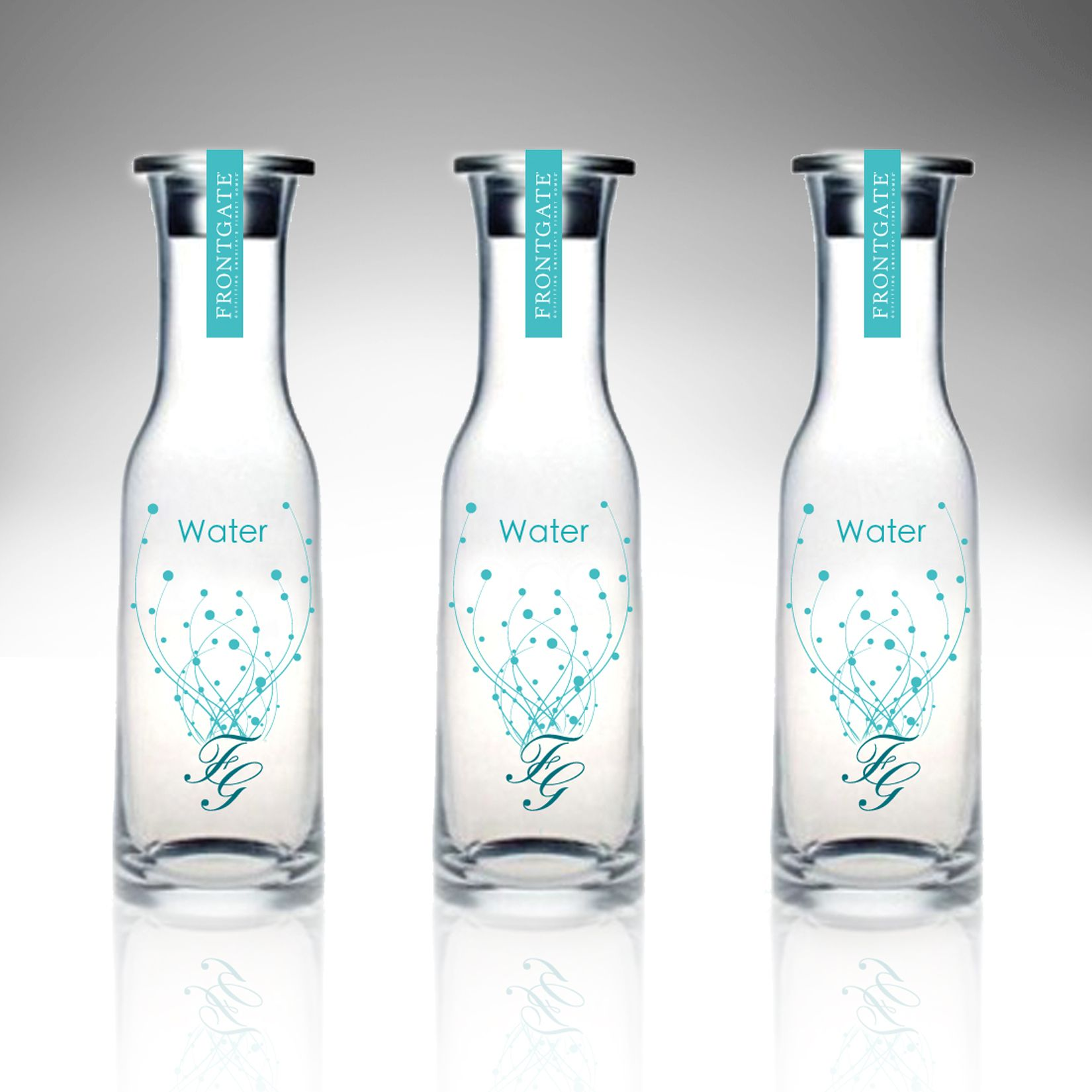 Water packaging design water packaging pinterest for Decor water bottle