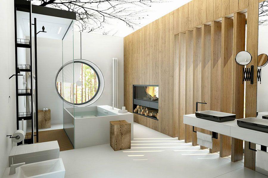 Bagno di lusso moderno 02 | Bathroom | Pinterest