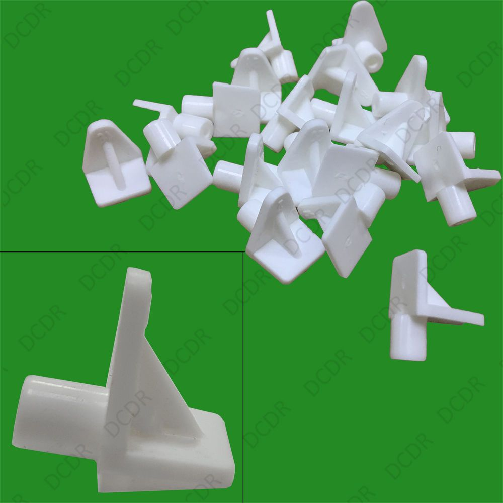 40x 5mm Push In White Plastic Shelf Support Pegs Studs Kitchen Cabinets Plastic Shelves Shelf Supports Kitchen Cabinets